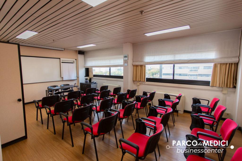 Sala per corsi di formazione a Roma