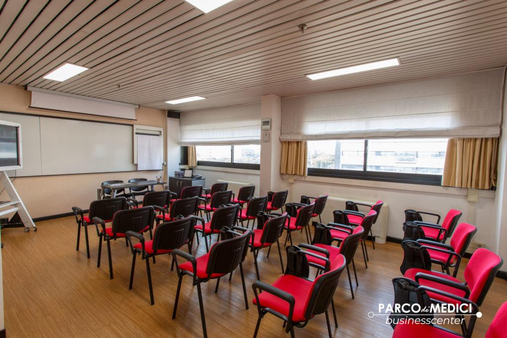 Sala corsi formativi a Roma
