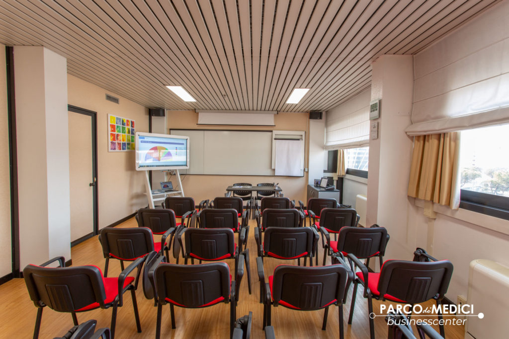 sala per corsi di make-up a Roma