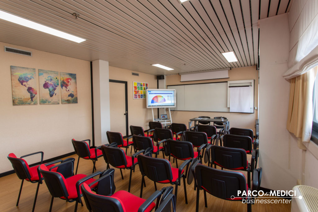 Sala corsi di formazione sicurezza sul lavoro